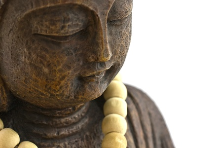 brown buddha sculpture photo