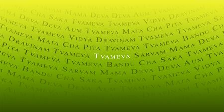 Indian mantra background Stock Photo - 8730574
