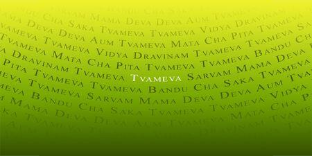 Mantra: Indische Mantra-Hintergrund