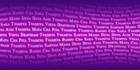 Indian mantra background Stock Photo - 8730582