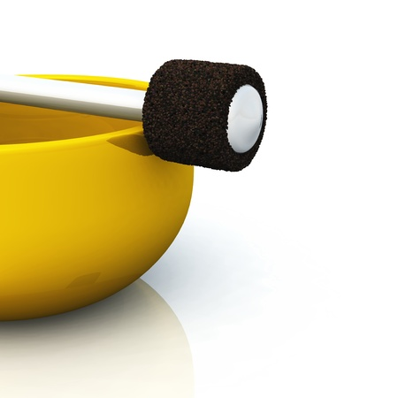 golden singing bowl photo
