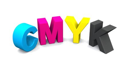 Colorful letters for printing Stock Photo - 8730534