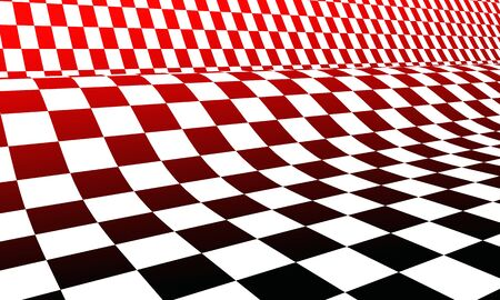 crosshatched: racing flag red black white