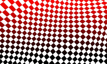 racing flag red black white photo