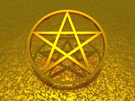 oracle: 3d star over golden structure