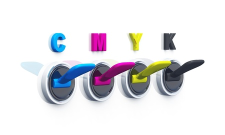 colorful switches for printing Stock Photo - 8882956