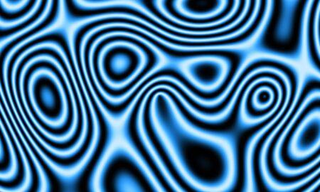 backplate: Psycho waves Hinte basic blue 01 Stock Photo