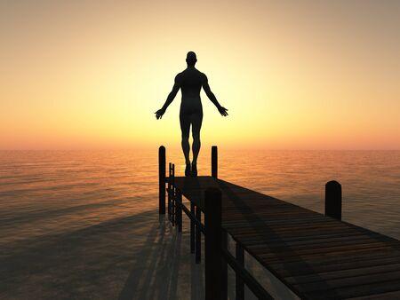 enlightenment: Golden Morning on Water