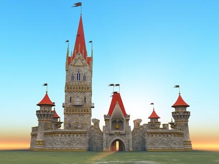 The fairytale castle photo