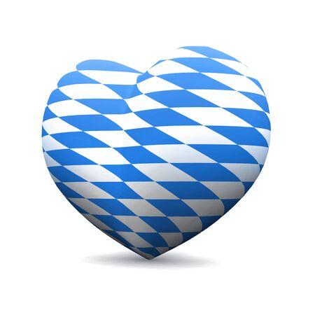 3D Heart - We love Bavaria photo