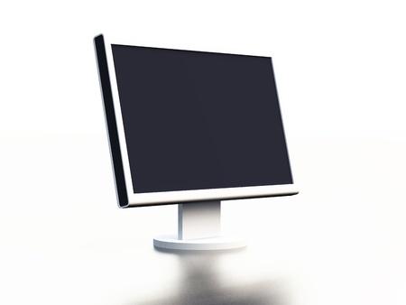 abbildung:  White Flat monitor