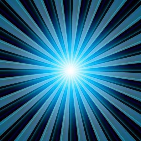 Background - Blue Black  light beams photo