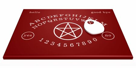 spirit medium: Red Witch Board