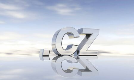 cz: Top-Level-Domain  cz Stock Photo