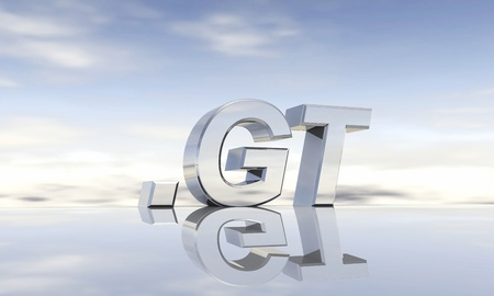 gt: Top-Level-Domain  gt Stock Photo