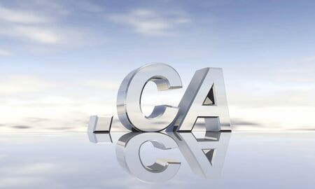 ca: Top-Level-Domain  ca Stock Photo