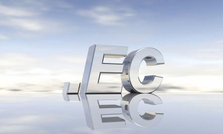Top-Level-Domain  ec Stock Photo - 13844135