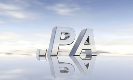 pa: Top-Level-Domain  pa Stock Photo