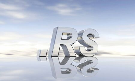 top of the world: Top-Level-Domain  rs Stock Photo