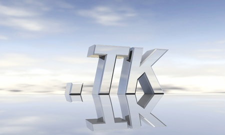 domain: Top-level domain tk Stock Photo