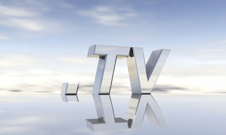 domain: Top-level domain tv Stock Photo