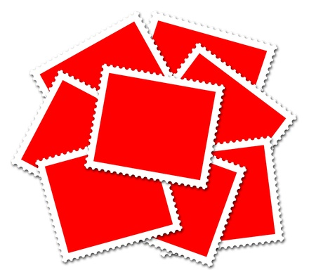 red mailing photo