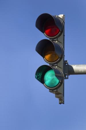 se�ales trafico: Luz verde - Transparente