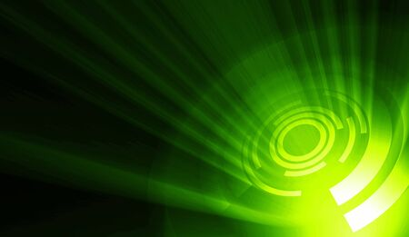 laser show: Green background Zoonar Stock Photo
