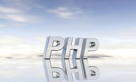 php: Silver text - PHP
