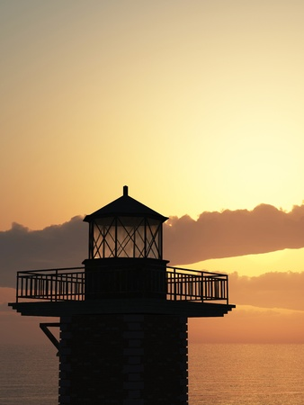 The Lighthouse Stock Photo - 13920264