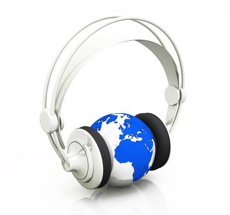 radio unit: 3 - Music 4 the World - blue silver