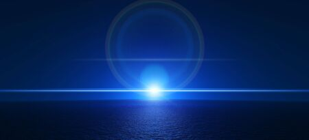 backplate: Supernova blue background