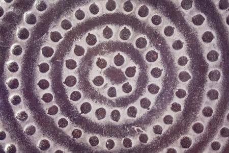 sexual chakra: Mediterranean stone mandala structure