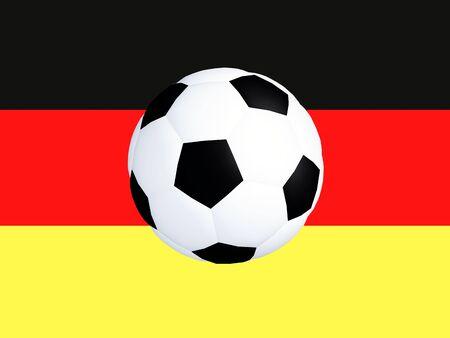 German flag football at 23 photo
