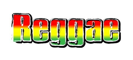 reggae: Rouge Jaune Vert - Reggae Party Flag 02