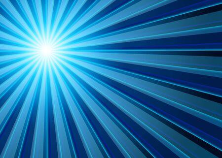 enlightenment: Background - Blue Black Light rays