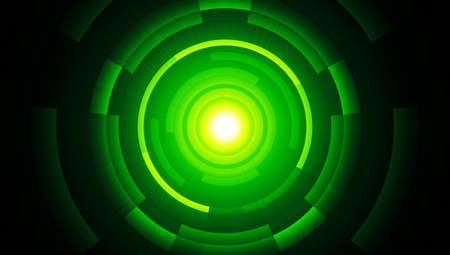 backplate: Light green matrix background black