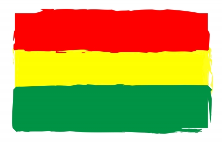 rasta: Rastafari - Reggae Flag Stock Photo