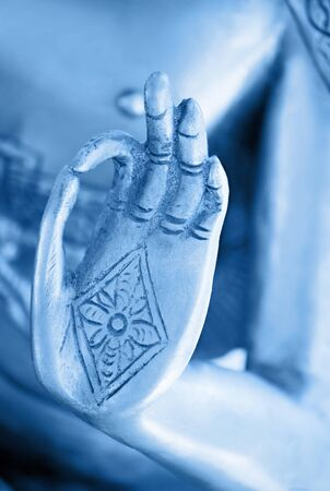 Hand Of The Blue Buddha
