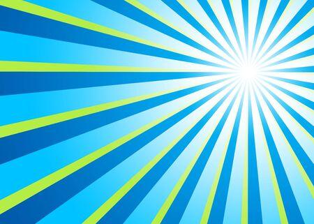 Background - Blue-green light rays photo