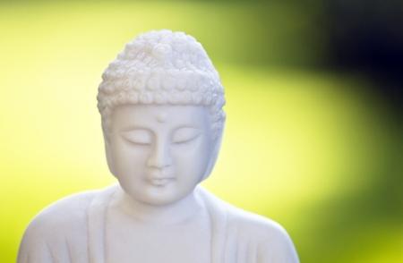 The white Buddha 05 photo
