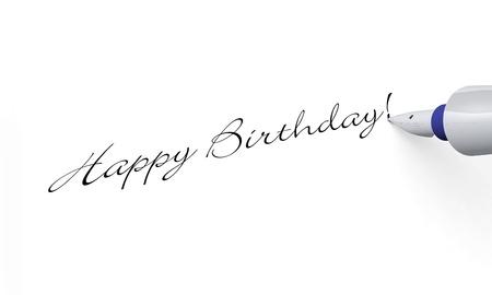 Pen Concept - Happy Birthday