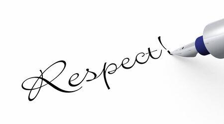 respect: Pen Concept - Respect