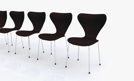 Designer Chair Series - Black Stock Photo - 13944964