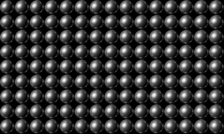 Silver ball grid array background photo