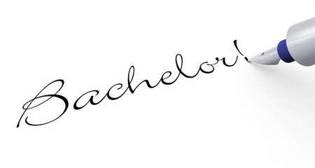 Pen Concept - Bachelor Stock Photo - 13944108