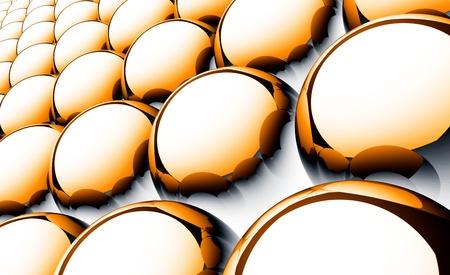 Matrix Background Balls - Orange Black White 01 photo