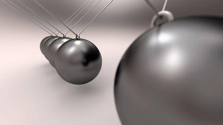 Aluminum sphere impact pendulum 2 photo