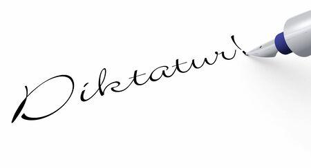 dictatorship: Pen Concept - Dictatorship