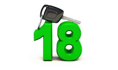 driving school: Finally, 18 - Finally the driver s license - Green